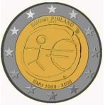 Finlande 2009 - 2 euro commémorative 10 ans de la zone euro