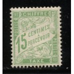 Timbre Taxe n°30 luxe neuf avec gomme