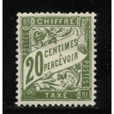 Timbre Taxe n°31 luxe neuf avec gomme