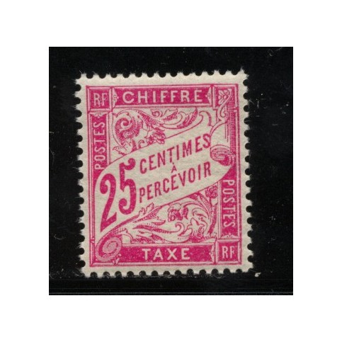 Timbre Taxe n°32 luxe neuf avec gomme