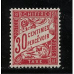 Timbre Taxe n°33 luxe neuf avec gomme