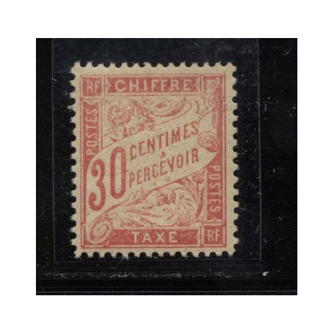 Timbre Taxe n°34 luxe neuf avec gomme