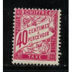 Timbre Taxe n°35 luxe neuf avec gomme