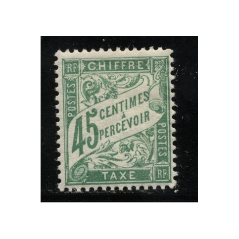 Timbre Taxe n°36 luxe neuf avec gomme