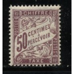 Timbre Taxe n°37 luxe neuf avec gomme