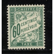 Timbre Taxe n°38 luxe neuf avec gomme