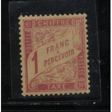 Timbre Taxe n°39 luxe neuf avec gomme