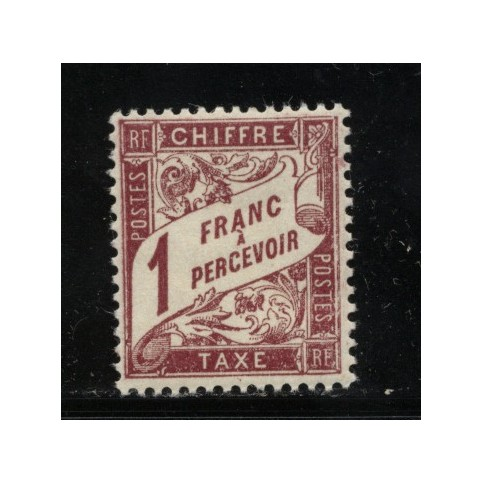 Timbre Taxe n°40A luxe neuf avec gomme