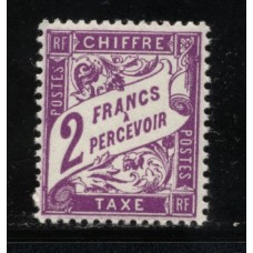 Timbre Taxe n°42 luxe neuf avec gomme