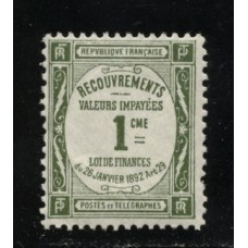 Timbre Taxe n°43 luxe neuf avec gomme