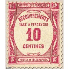 Timbre Taxe n°56 luxe neuf avec gomme