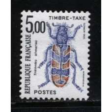 Timbre Taxe n°109/112 luxe neuf avec gomme