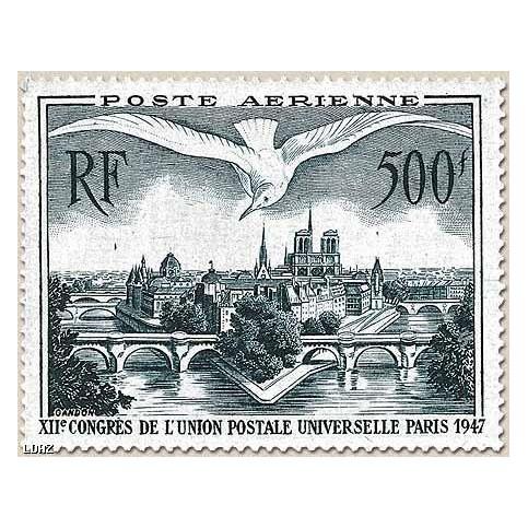 Timbre PA N°20 timbre luxe sans charnières