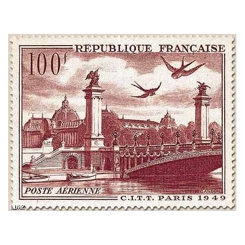 Timbre PA N°28 timbre luxe sans charnières