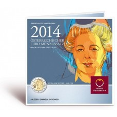Autriche 2014 - Coffret euro BU