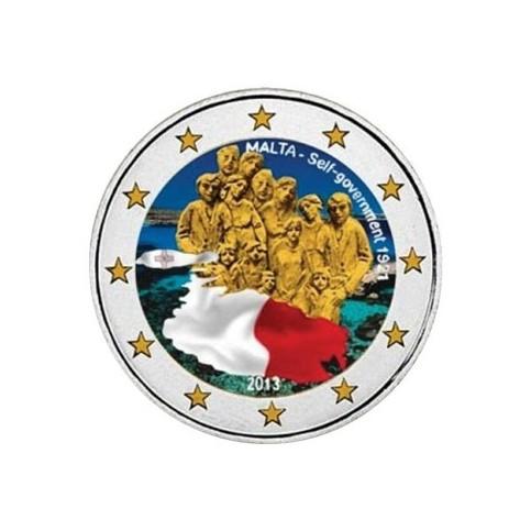 Malte 2013 - 2 euro commémorative en couleur