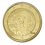 Finlande 2013 - 2 euro commémorative Frans Eemil dorée à l'or fin 24 carats