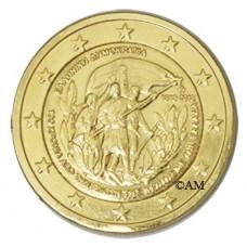 Grèce 2013 - 2 euro commémorative 'Crète' dorée à l'or fin 24 carats