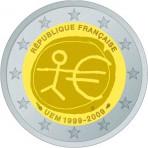France 2009 - 2 euro commémorative 10 ans de la zone euro