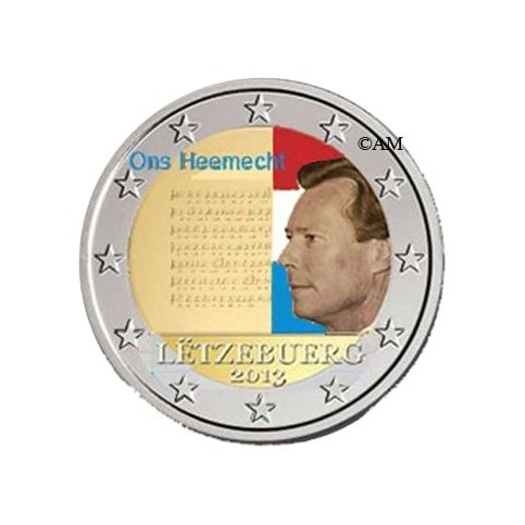 Luxembourg 2013 - 2 euro commémorative couleur