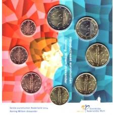 Pays-Bas 2014 : Série complète euro neuve