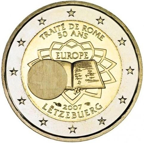 Luxembourg 2007 Traité de Rome - 2 euro commémorative