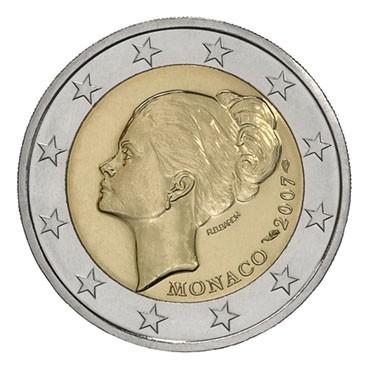2 Euro Commemorative Grace Kelly De Monaco