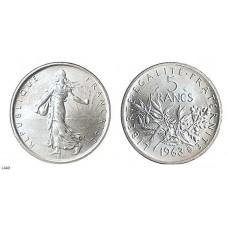 Cinq Francs SEMEUSE Argent