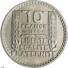 Dix Francs TURIN Grosse Tête