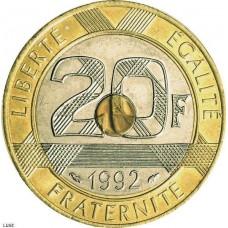 Vingt Francs Mont st-Michel