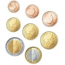 Luxembourg 2012 : Série complète euro neuve