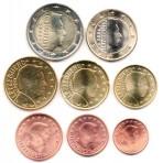 Luxembourg 2004 - Série complète euro neuve