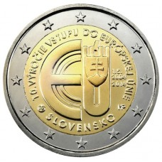Slovaquie 2014 - 2 euro commémorative
