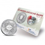 """Pays-Bas 2014 - coincard 5 euro """"Bicentenaire de la banque Néerlandaise"""""""