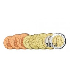 Espagne 2014 - série complète euro neuve