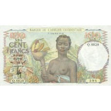 100 Francs Afrique Occidentale