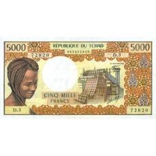 5000 Francs République du Tchad