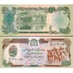 P.60 Afghanistan - Billet de 500 Afghanis