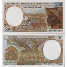 P.301 Afrique Centrale Centrafrique - Billet de 500 Francs