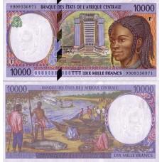 P.305 Afrique Centrale Centrafrique -Billet de 10000 Francs