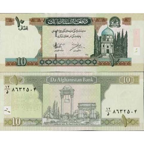 P.67 Afghanistan -  Billet de 10 Afghanis