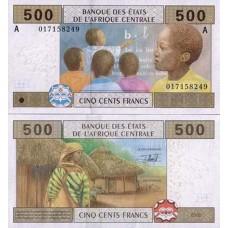 P.406 Afrique Centrale Gabon - Billet de 500 Francs