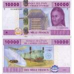 P.110 Afrique Centrale Congo République - Billet de 1000 Francs