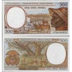 P.501 Afrique Centrale Guinée Equatoriale - Billet de 500 Francs