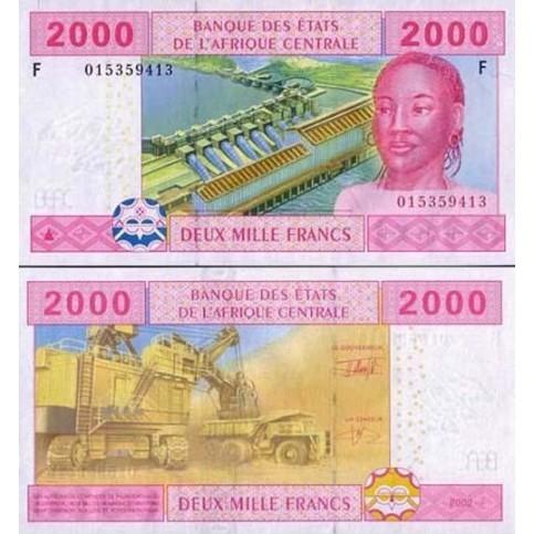 P.508 Afrique Centrale Guinée Equatoriale - Billet de 2000 Francs