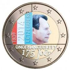 Luxembourg 2014 - 2 euro commémorative en couleur