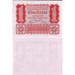 P.73 Autriche - Billet de 1 Kronen