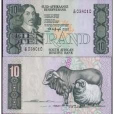 P.120 Afrique Du Sud - Billet de 10 Rand