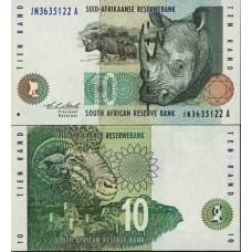 P.123 Afrique Du Sud - Billet de 10 Rand