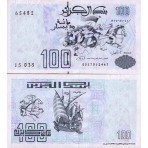 P.137 Algerie - Billet de 100 Dinars